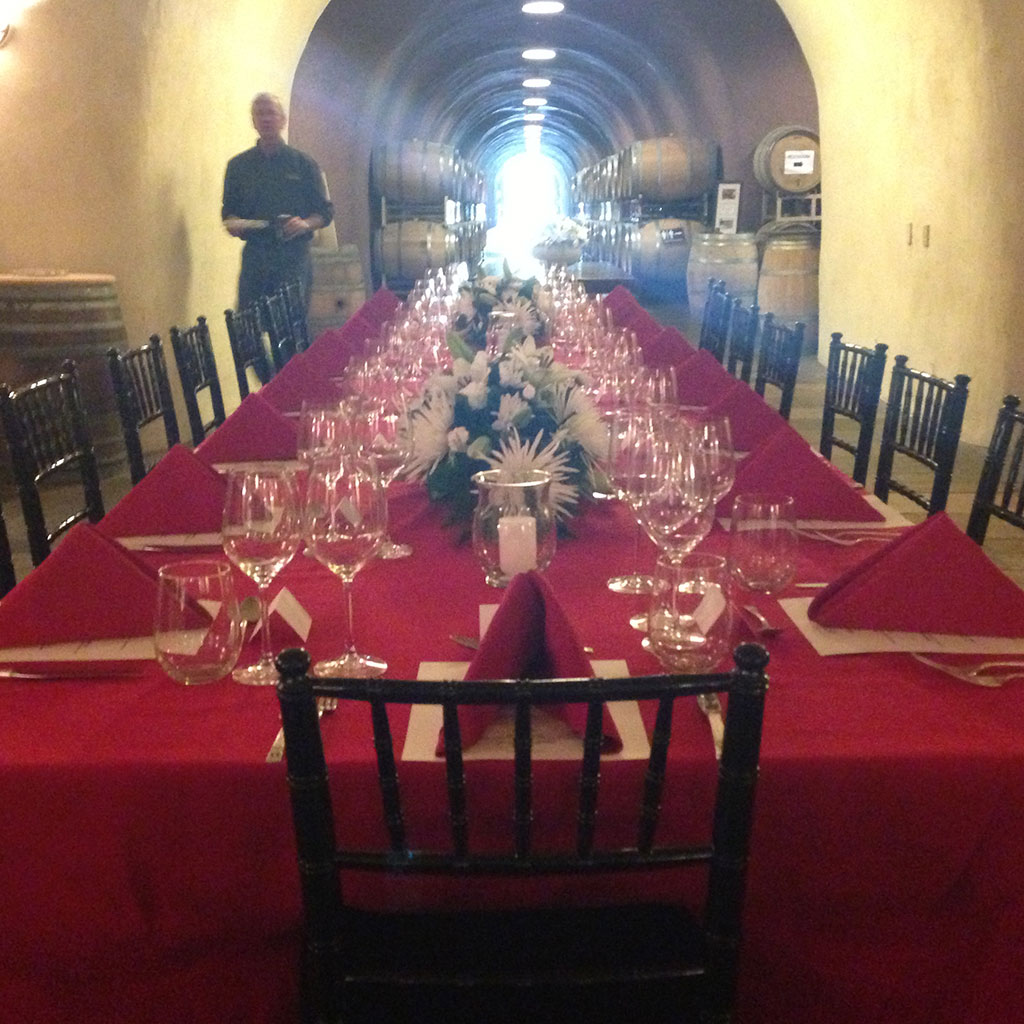 Specializing in smaller gourmet wine pairing dinners up to large weddings, banquets and corporate events.